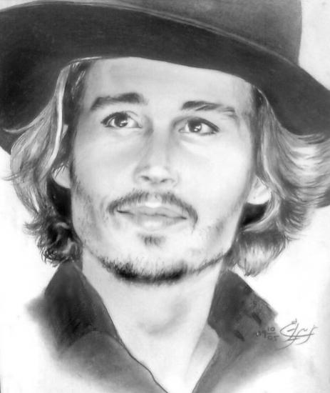 Johnny Depp by myra
